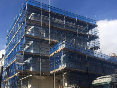 scaffolding Londyn