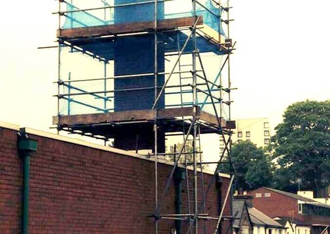 Unusual solutions involving the use of scaffolding