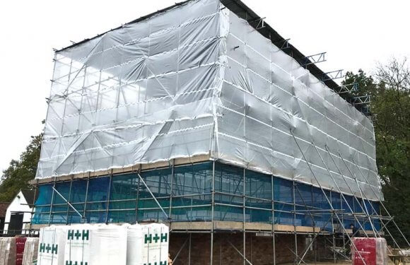 Residential scaffolding options