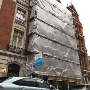 Business relations with B&J Scaffolding